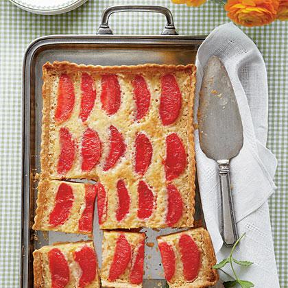 Grapefruit Chess Tart Recipe