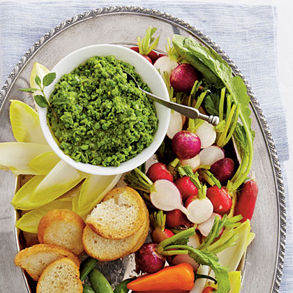 Green Pea Hummus Recipe