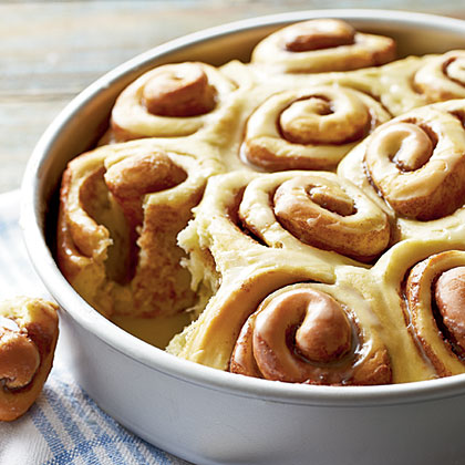 Orange-Cinnamon Rolls Recipe