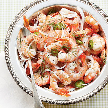 Pickled Shrimp with Fennel