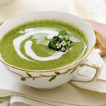 Watercress-Buttermilk Soup Recipe