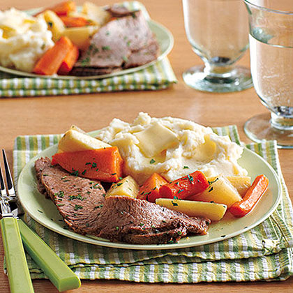 Brisket with Root Vegetables