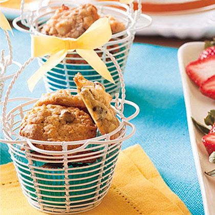 Coconut-Almond Chocolate Chip Cookies Recipe