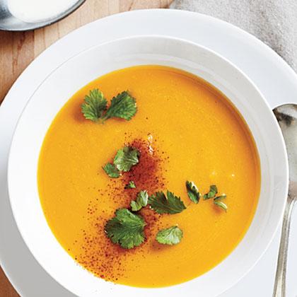 Butternut Soup with Coconut Milk Recipe