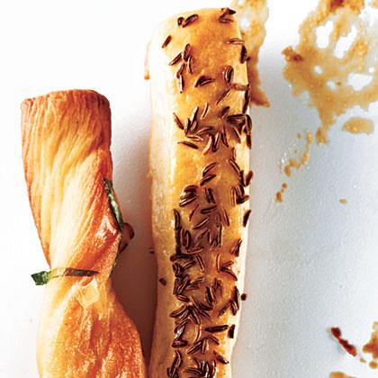 Caraway BreadsticksRecipe