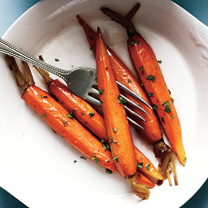 ck-Glazed Baby Carrots