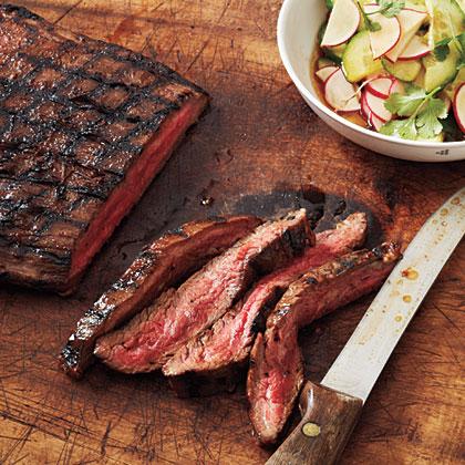 Hoisin-Glazed Steak with Sesame Vegetables