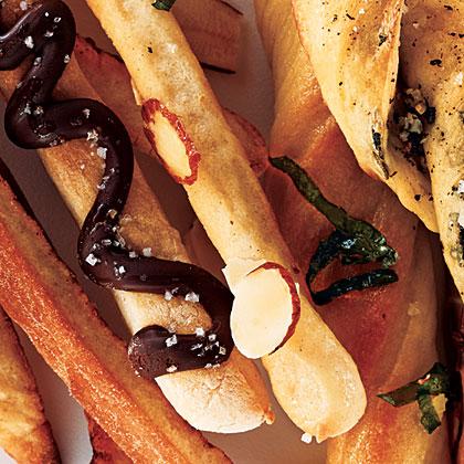 Honey-Almond Breadsticks
