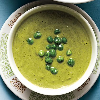 Quick Chilled Pea SoupRecipe