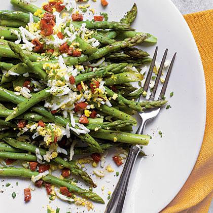 Asparagus Mimosa Recipe | MyRecipes