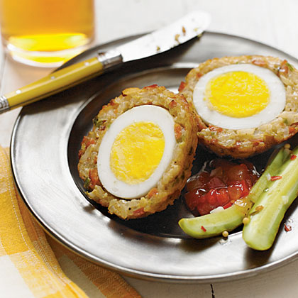 Dirty Rice Scotch Eggs Recipe