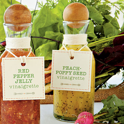 Peach-Poppy Seed Vinaigrette