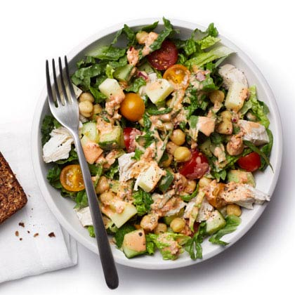 <p>Spicy Chopped Chicken Salad</p>