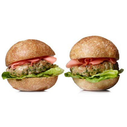 <p>Spring Seafood Sliders</p>