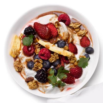 <p>Yogurt Breakfast Bowl</p>