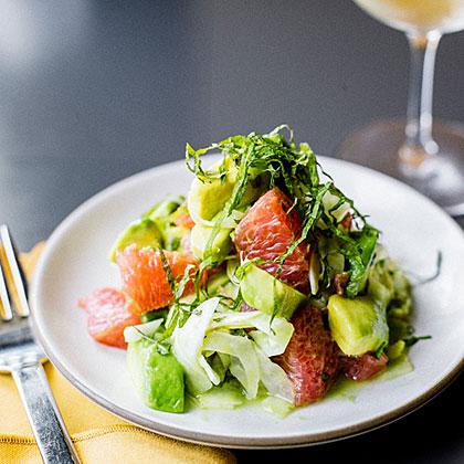 Avocado, Grapefruit, and Shiso Salad Recipe | MyRecipes