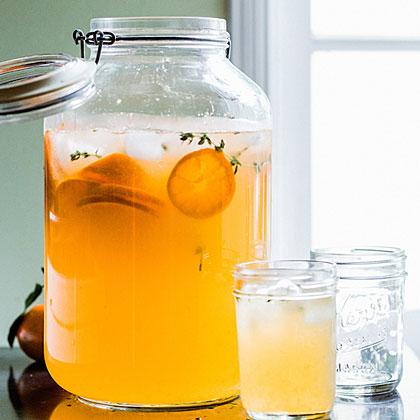 su-Tangerine Thyme Cooler