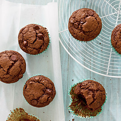 Double Chocolate-Mocha Muffins Recipe