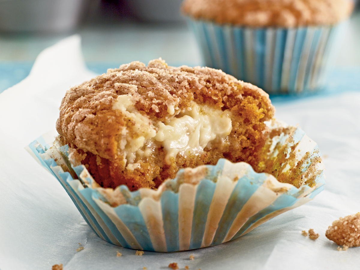 Pumpkin Cream Cheese Streusel Muffins (enlarged)