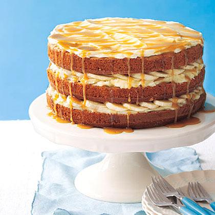 Banana Layer CakeRecipe