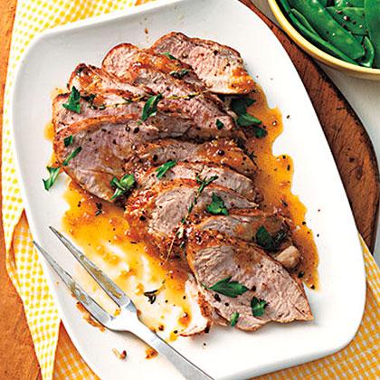Ginger-Orange Pork Tenderloin Recipe