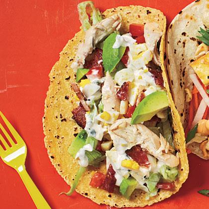 Cobb Salad Tacos Recipe