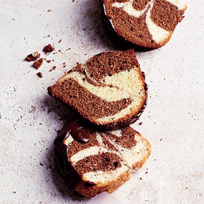 Double-Chocolate Swirl Pound Cake