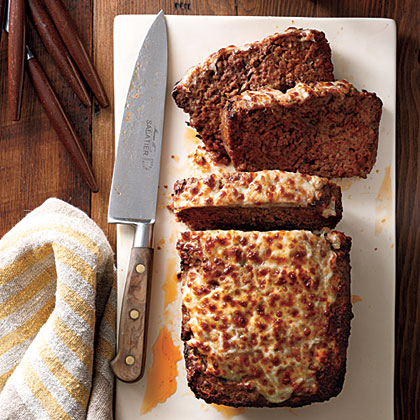Everyday Meat Loaf RecipeThe meat loaf cooks in the microwave for just 8 minutes, a fraction of the time it takes for traditionally baked meat loaf. Broiling the cheese on top of the cooked meat loaf until it's brown and bubbly lends the dish a pleasing, oven-baked look.