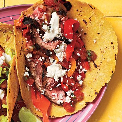 Steak Tacos with Lime MayoRecipe