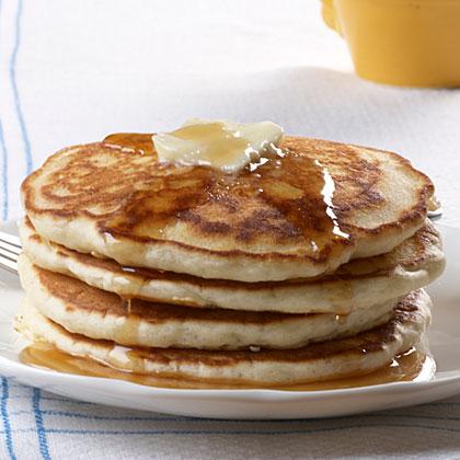 Fluffy Cream Cheese PancakesRecipe