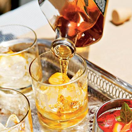 Basil-Lemon Moonshine