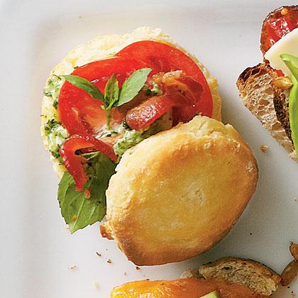 Biscuit BLTs Recipe