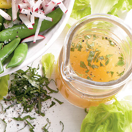 Lemon-Basil Vinaigrette Recipe | MyRecipes | MyRecipes