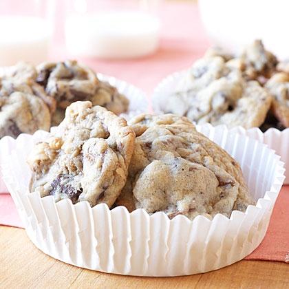 Chunky Hazelnut-Toffee Cookies