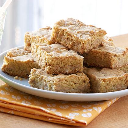 Double Peanut Butter Bars Recipe