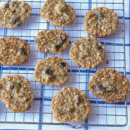 Oatmeal-Molasses Cookies