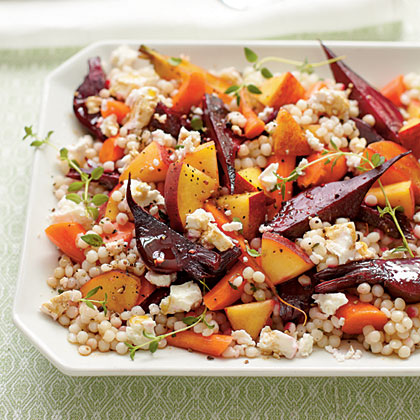 sl-Roasted Vegetable Couscous