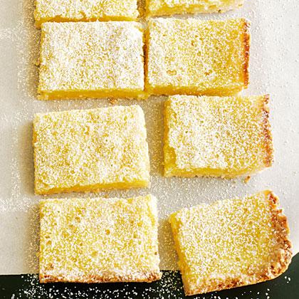 Lemon-Lime Macaroon Bars