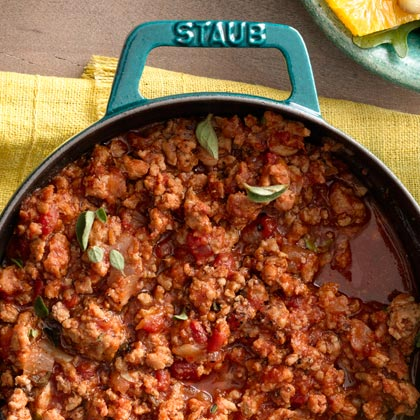 <p>Chipotle Turkey Taco Filling</p>