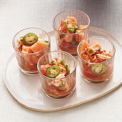 Salmon-and-Shrimp Ceviche Recipe