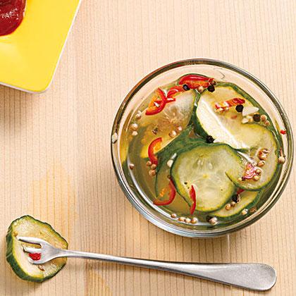 Quick Homemade Pickles Recipe