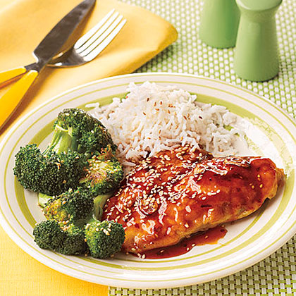 Honey-Sesame Chicken Cutlets