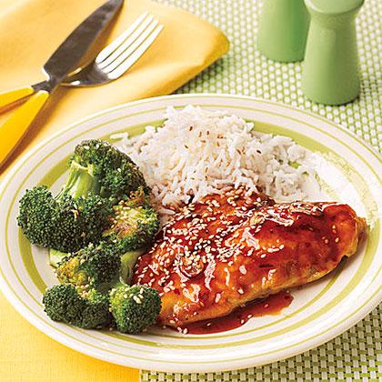 Honey-Sesame Chicken Cutlets Recipe