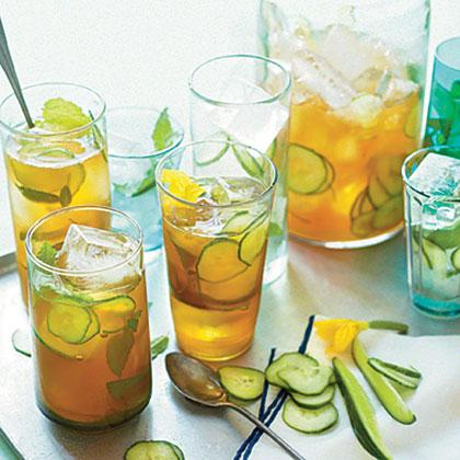 Cucumber Pimm's Cup