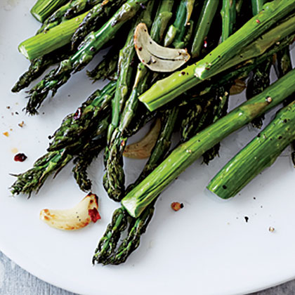 ck-Garlic and Red Pepper Asparagus