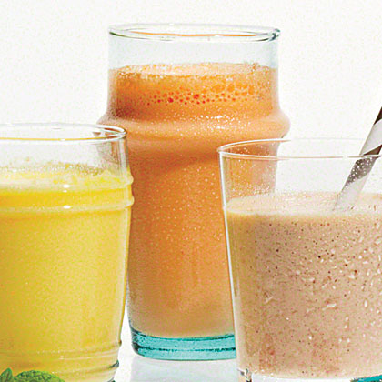 Gingered Carrot Smoothies