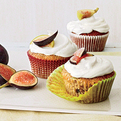 Green Tomato and Fig Cupcakes Recipe