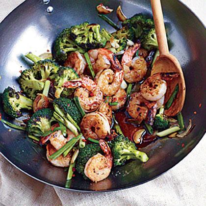 <p>Shrimp and Broccoli Stir-Fry</p>