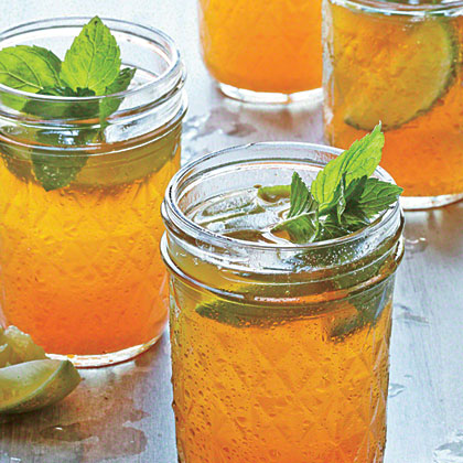 Sweet Tea Mint Juleps Recipe