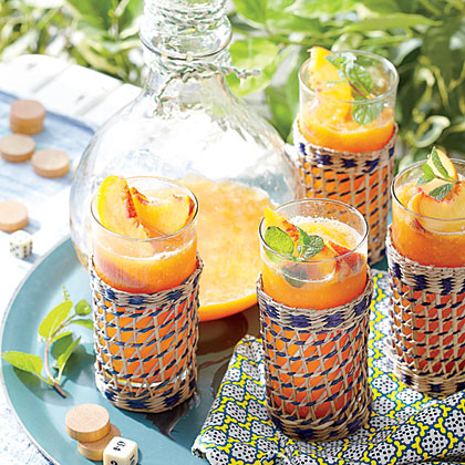 Frozen Peach Old FashionedRecipe